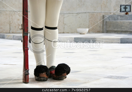 Presidential Guard Legs stock photo, The legs, the