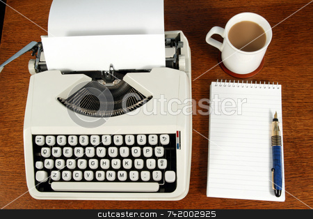 A writer stock photo, A writer by Stephen Rees