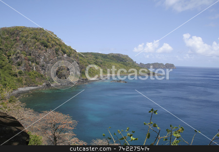 Dolphin Bay stock photo, Dolphin Bay in Fernando de Noronha - Brazil. by Daniel Wiedemann