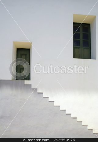Weird Stairs stock photo, Stairs that look weird, like they are upside down. by Daniel Wiedemann