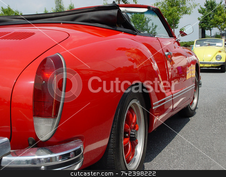 Car Show stock photo, Car show by Jack Schiffer