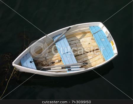 Lone boat stock photo,  by Jodi Baglien Sparkes