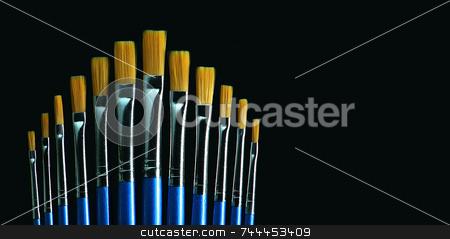 Paintbrush stock photo,  by Kjell Westergren
