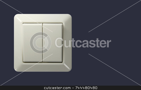 Switch stock photo, Switch with clipping path by Kjell Westergren