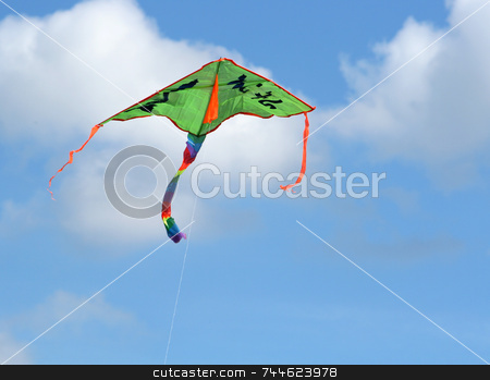 Kite stock photo,  by Kjell Westergren