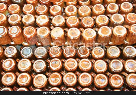 Coffee mugs stock photo, Lots and lots of brown coffee mugs by Jonas Marcos San Luis