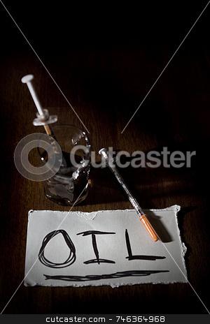 Oil Dependancy stock photo,