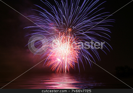 Fireworks stock photo,  by Greg Peterson