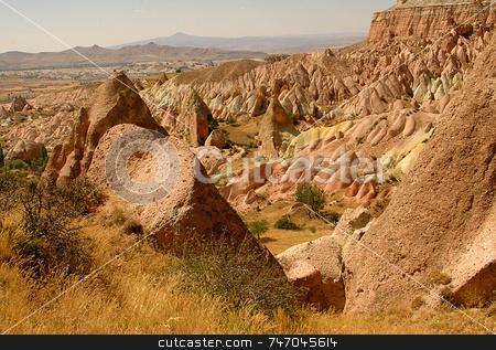 Cappadocia stock photo, The speciel stone formation of cappadocia turkey by Kobby Dagan