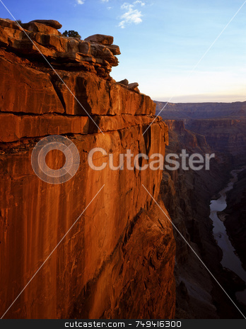 Toroweap Two stock photo, The Toroweap View of the Grand Canyon in Grand Canyon National Park, Arizona. by Mike Norton