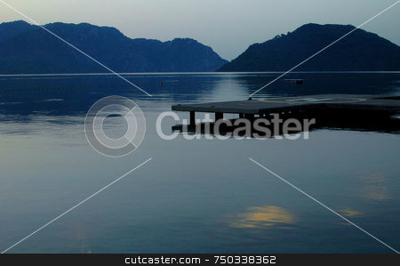 Morning at the gulf stock photo, The gulf of Marmaris by Kobby Dagan