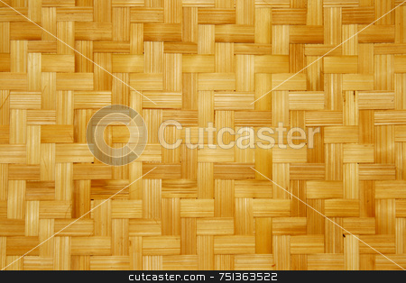 Bamboo stock photo, Woven bamboo material for making baskets and trays by Jonas Marcos San Luis