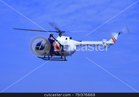 Coastguard helicopter 1 stock photo, Coartguard helicopter on a rescue mission demonstration by Jonas Marcos San Luis