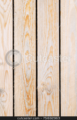 Raw wooden texture stock photo, Detail of wooden boards in vertical by Massimiliano Leban