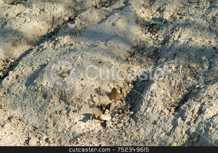 Dry Earth stock photo, Close-up view of some earth that is eroded and dry by Richard Nelson