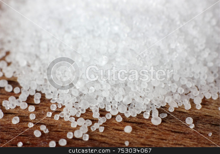 Salt Macro stock photo, A macro shot of salt grains (shallow depth of field) by Georgios Alexandris