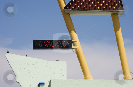 Vacany stock photo, Neon
