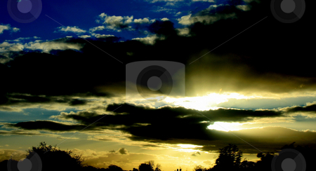 Sunset stock photo, A very nice sunset in the UK. by Lucy Clark