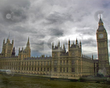 Houses of Parliament and Big Ben stock photo, Houses of Parliament and Big Ben in London, UK. by Lucy Clark