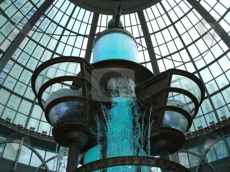 Futuristic Building stock photo, Futuristic glass building by CHERYL LAFOND