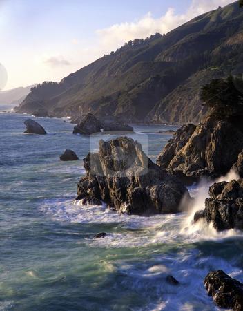 Big Sur Coast 3 stock photo, The Big Sur coast in California. by Mike Norton