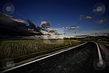 ... a country east road stock photo,  by emiliano beltrani