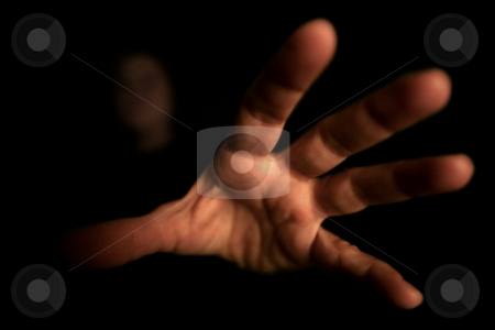 ... an hand from out there stock photo,  by emiliano beltrani