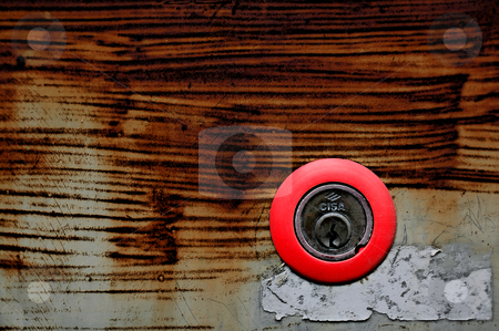 ... a rusti door lock stock photo,  by emiliano beltrani