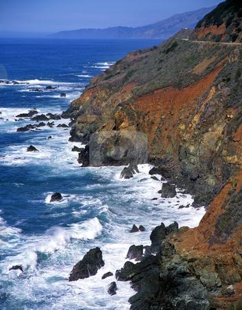 Big Sur Coastline 2 stock photo, The Big Sur coastline, California. by Mike Norton