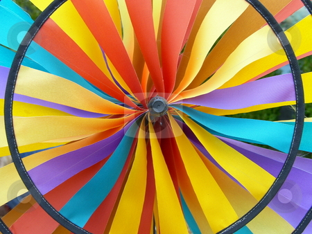 Color wheel stock photo,  by John Adair