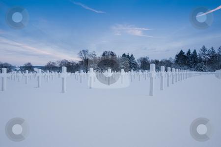 Henri-Chapelle Cemetery stock photo, Henri-Chapelle American Cemetery and Memorial by Jaime Pharr