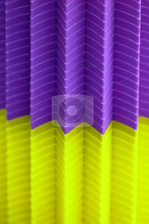 Abstract cups stock photo, colorful plastic cubs stacked together creating an abstract by Henrik Lehnerer