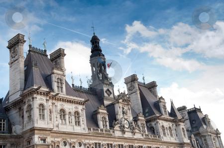 Hotel de Ville stock photo, Hotel de Ville, Paris France by Jaime Pharr