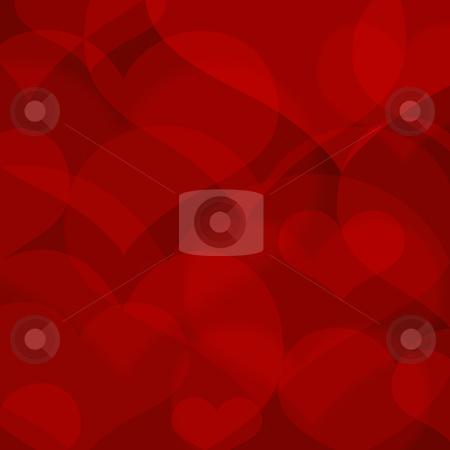 Beautiful redl heart shape background stock photo, beautiful redl heart shape background by krasyuk