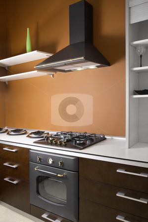 Kitchen stock photo, Kitchen by krasyuk