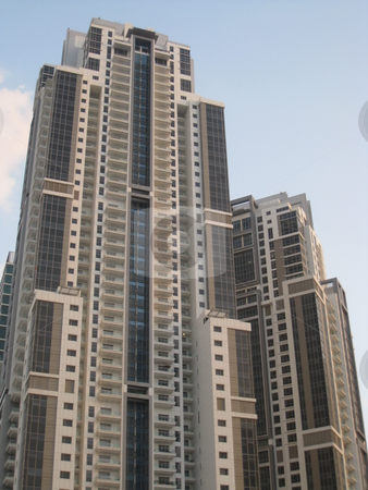 Skyscraper in Dubai stock photo,  by Ritu Jethani