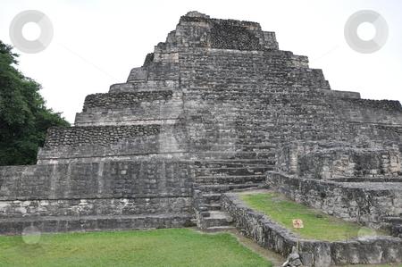 Chacchoben Mayan Ruins stock photo, Chacchoben Mayan Ruins in Mexico by Ritu Jethani