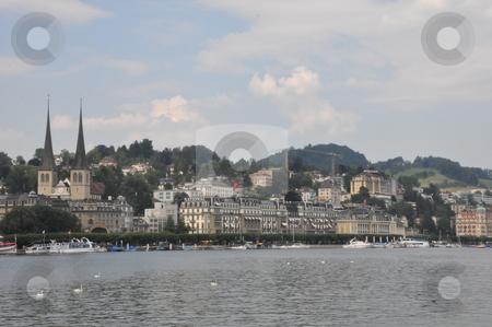 Lucerne in Switzerland stock photo, Lucerne in Switzerland, Europe by Ritu Jethani