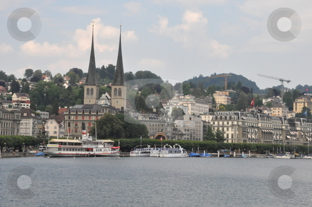 Lucerne in Switzerland stock photo, Lucerne in Switzerland, Europe by Ritu Jethani