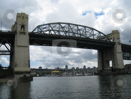 Burrard Bridge in Vancouver stock photo, Burrard Bridge in Vancouver, Canada by Ritu Jethani