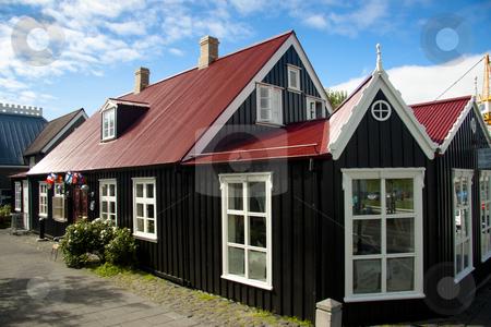 Old nordic house in Reykjavik stock photo, Beauty old nordic house in Reykjavik - Iceland by Tomasz Parys