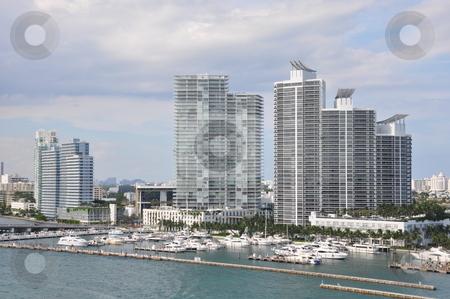 View of Miami stock photo, View of Miami, Florida by Ritu Jethani