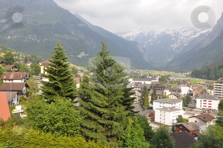Engelberg in Switzerland stock photo, Engelberg in the Alps in Switzerland by Ritu Jethani