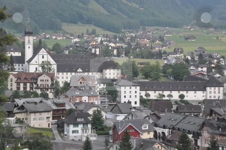 Engelberg in Switzerland stock photo, Engelberg in the Alps in Switzerland by Ritu Jethani