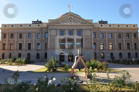Arizona State Capitol stock photo, Arizona State Capitol in Phoenix by Ritu Jethani