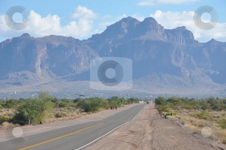 Apache Trail in Arizona stock photo, Apache Trail in Arizona, USA by Ritu Jethani