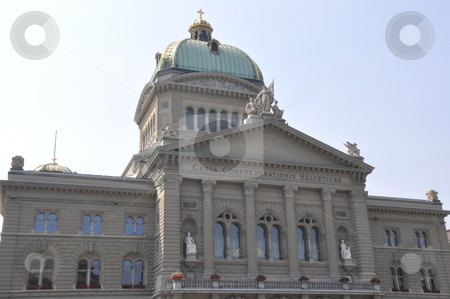 Swiss Parliament in Bern stock photo, Swiss Parliament in Bern, Switzerland by Ritu Jethani