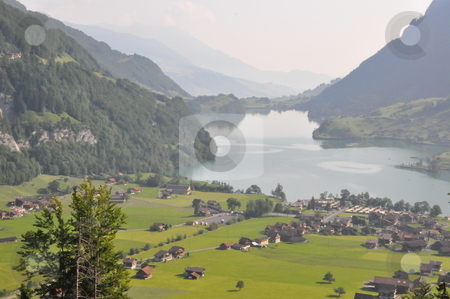 Lake in Switzerland stock photo, Lake in Switzerland, Europe by Ritu Jethani