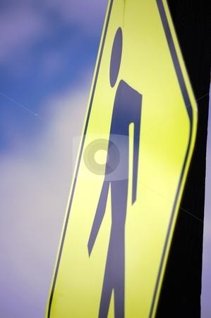 People Crossing Sign stock photo, People Crossing Sign by Liane Harrold