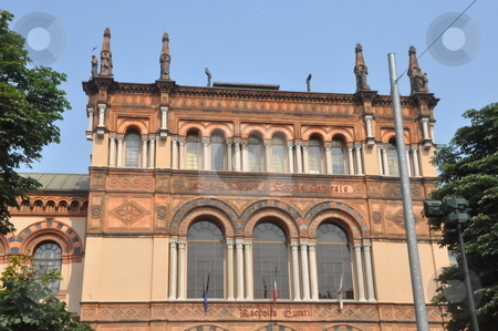 Architecture in Milan stock photo, Architecture in Milan, Italy by Ritu Jethani